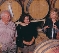 Visitors learn about winemaking with a stop at Colio Estate Winery in Harrow.